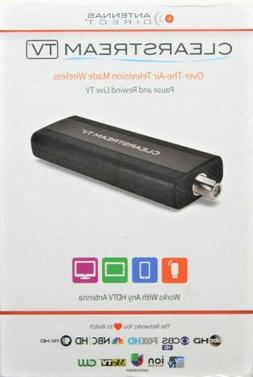 ClearStream TV Over-The-Air WiFi Tuner Adapter, Connects to